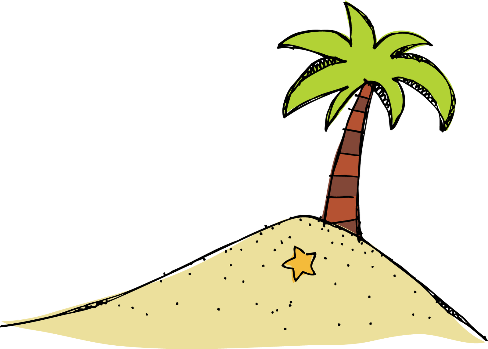 Chicka chicka boom boom tree clipart library Island Clipart library