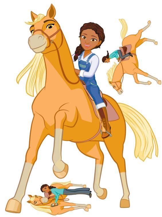 Chickalinda clipart clip art download Spirit Riding Free - Pru & Chica Linda Wall Sticker Set clip art download