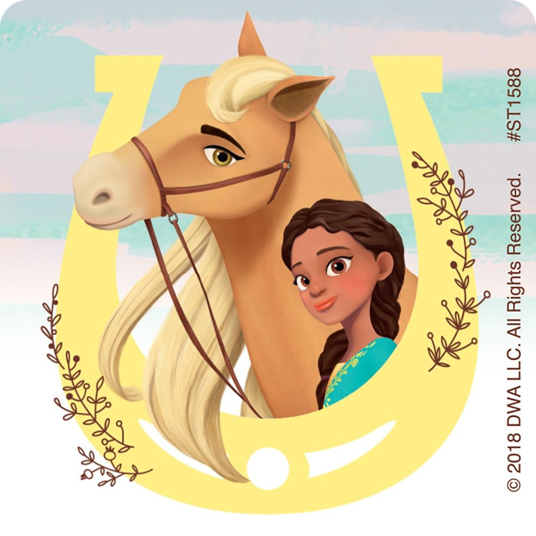 Chickalinda clipart image freeuse download Pru and Chica Linda | Birthdays in 2019 | Horse theme birthday party ... image freeuse download