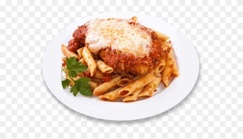 Chickem parm clipart jpg black and white download Chicken Parmesan Over Penne Pasta - Chicken Parmesan Clip Art, HD ... jpg black and white download