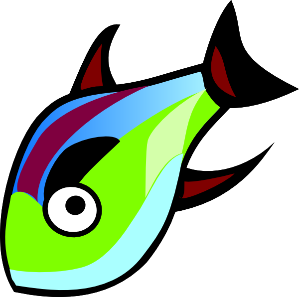 Fun fish clipart library Fish Clip Art at Clker.com - vector clip art online, royalty free ... library