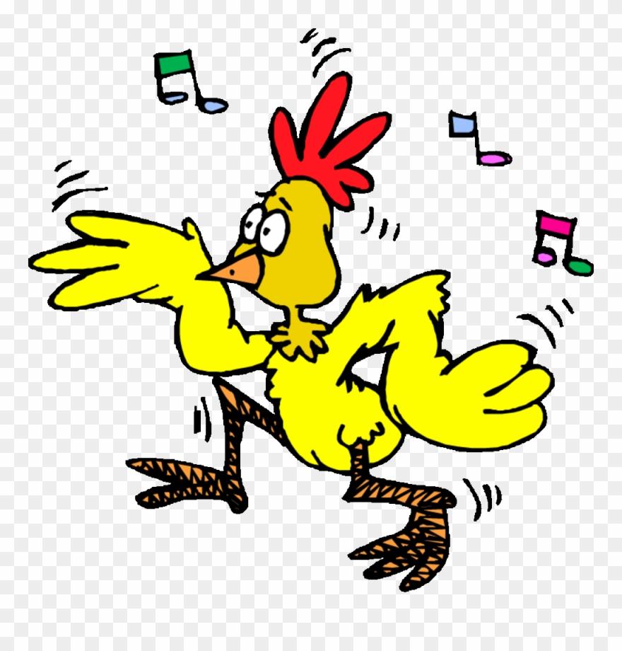 Chicken dance clipart