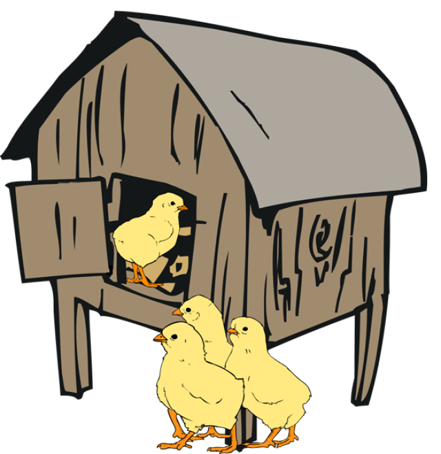 Hen house clipart image library 28+ Collection of Hen House Clipart | High quality, free cliparts ... image library