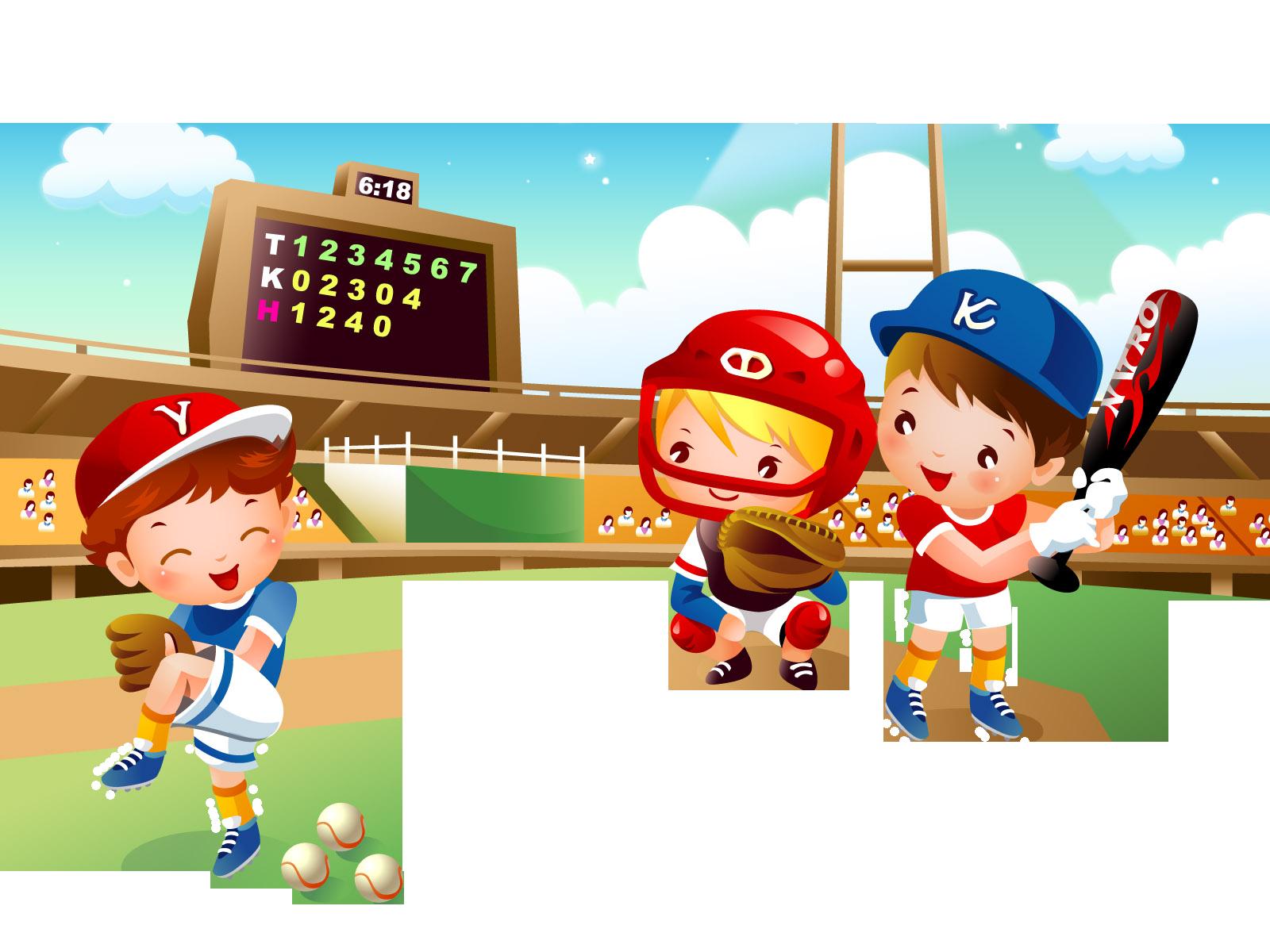 Chicken playing baseball clipart vector transparent stock Baseball Drawing Sport Clip art - Baseball game 1600*1200 transprent ... vector transparent stock