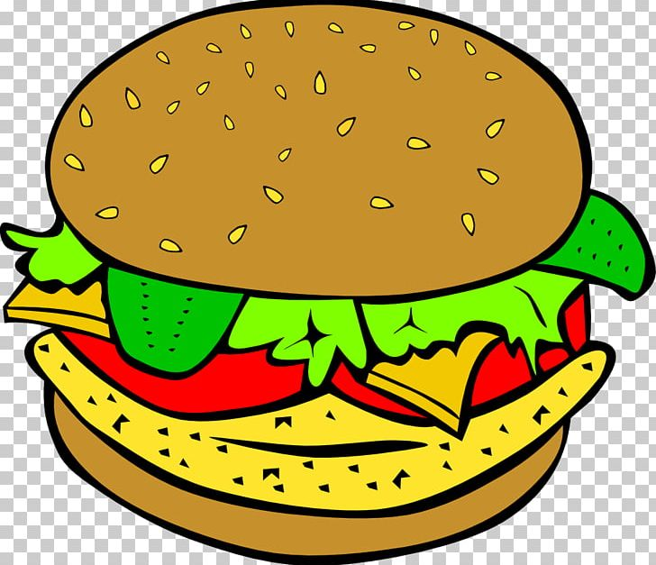 Chicken sandwich clipart