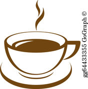 Coffee Clip Art - Royalty Free - GoGraph png black and white library
