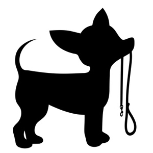 Chihuahua silhouette clipart graphic freeuse library Chihuahua Dog Silhouette ClipArt - Dog Clip Art graphic freeuse library