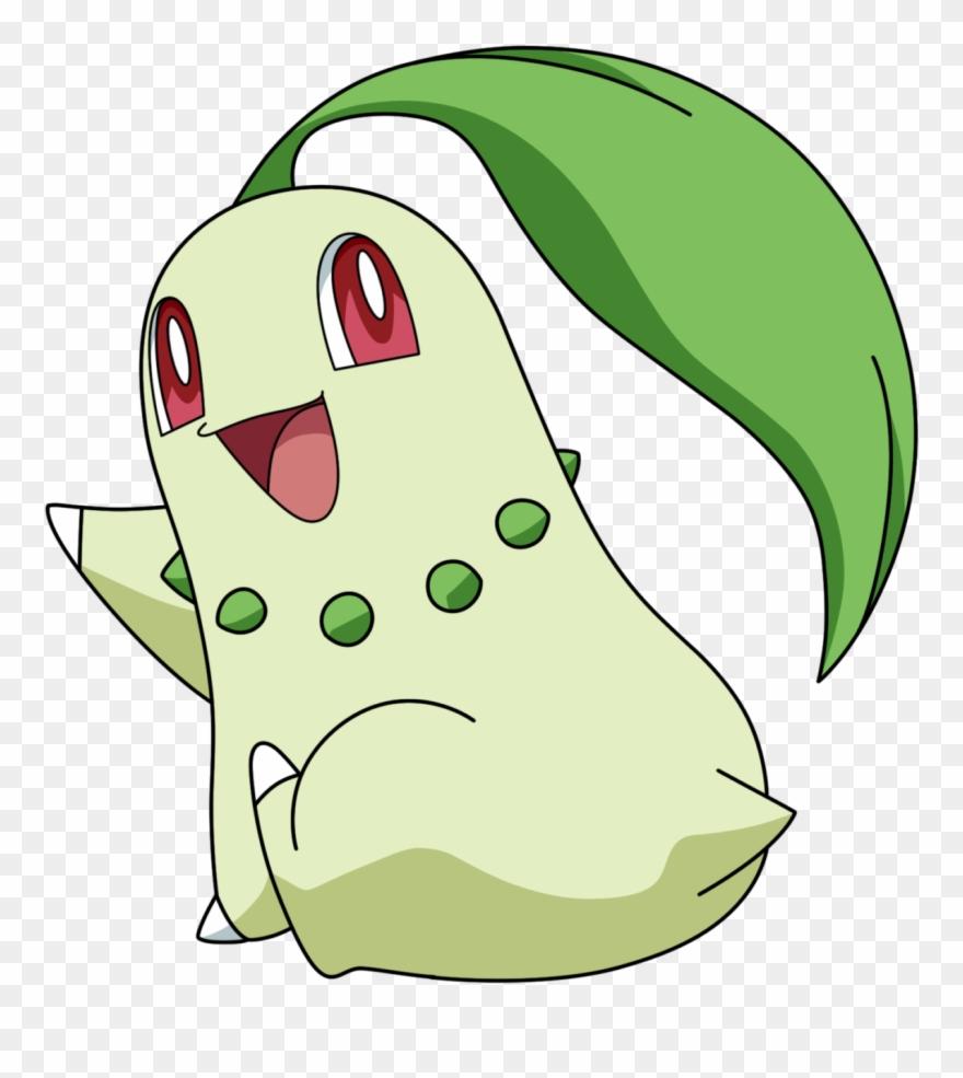 Chikorita clipart clip stock Pokémon Nac Week 6 Grass Chikorita By Rachos Nail Love Clipart ... clip stock
