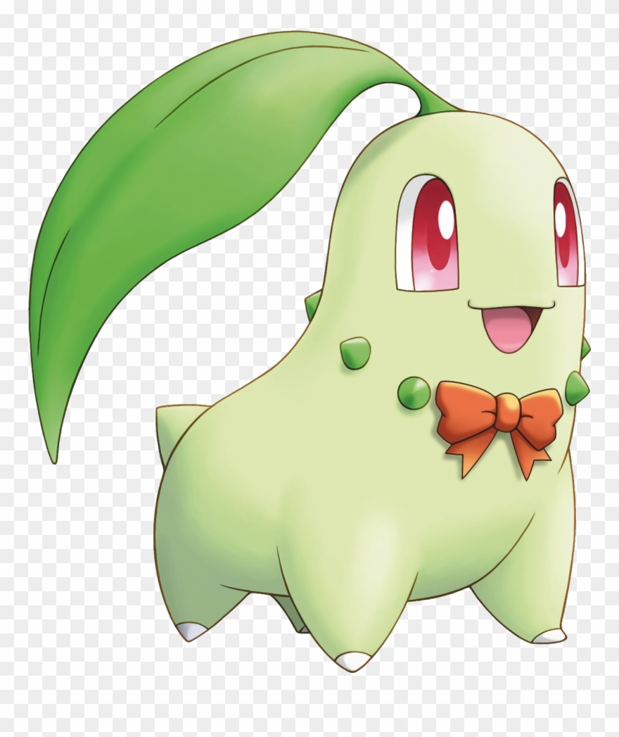 Chikorita clipart clipart library download Leader Clipart Transparent Background - Pokemon Chikorita Jpg - Png ... clipart library download