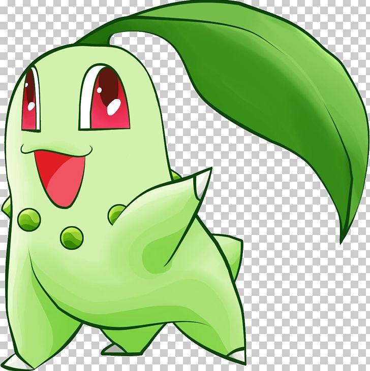 Chikorita clipart vector free library Pokémon X And Y Pokémon GO Chikorita PNG, Clipart, Amphibian ... vector free library