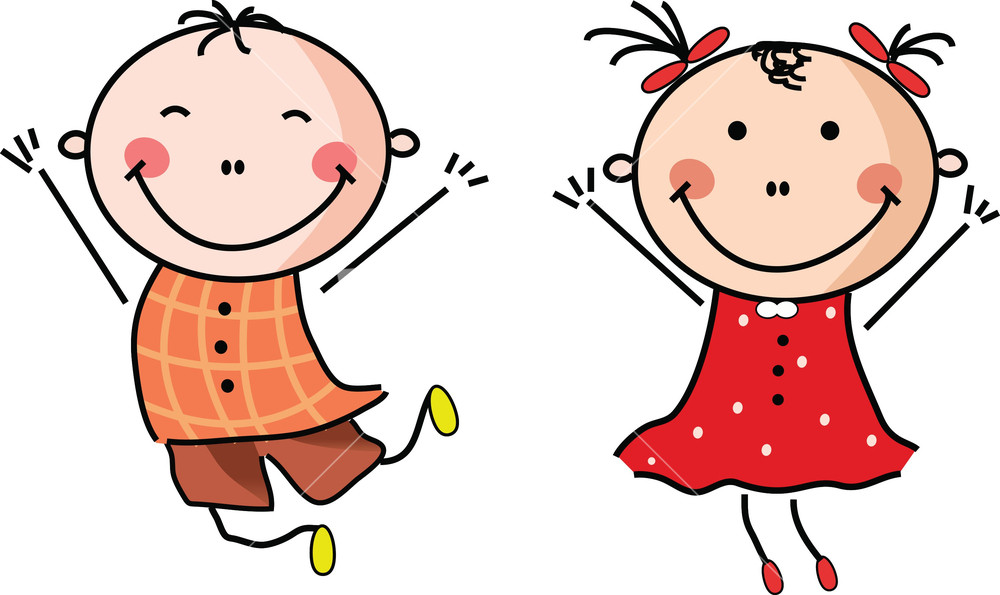 Chil clipart vector transparent library Happy Children Clipart | Free download best Happy Children Clipart ... vector transparent library