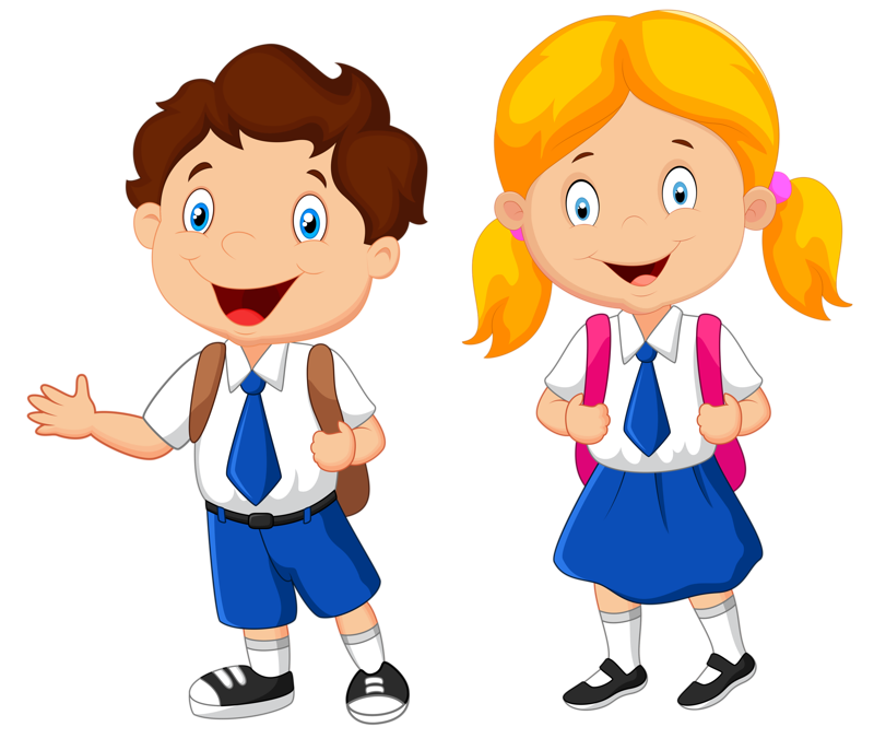 Clipart school uniforms image black and white stock Children At School Clipart at GetDrawings.com | Free for personal ... image black and white stock