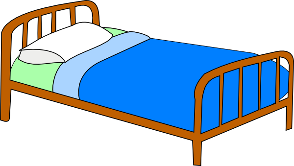 Free clipart bedroom. Boy on bed bangdodo