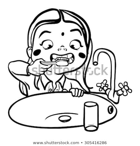 Child brushing teeth black and white clipart clipart black and white download Child brushing teeth clipart black and white 2 » Clipart Portal clipart black and white download