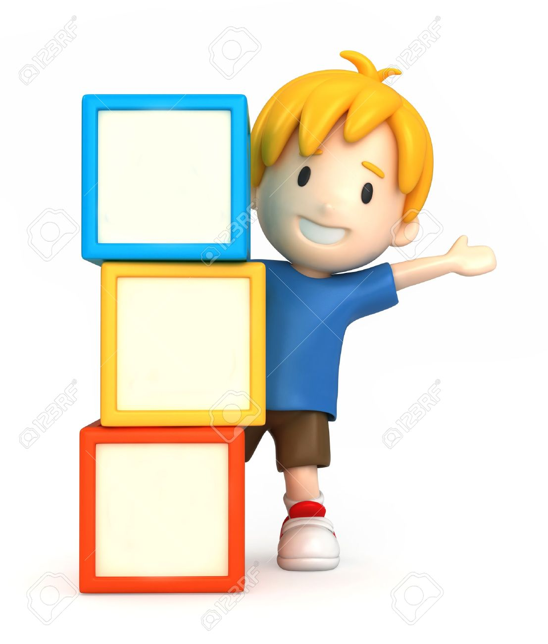Child building with blocks clipart image freeuse stock Clipart boy building blocks - ClipartFest image freeuse stock