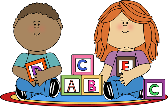 Nursery curriculum please help. Child building with blocks clipart