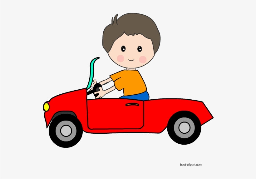 Kids in cars clipart clipart black and white download Motor vehicle,Cartoon,Vehicle,Mode of transport,Clip art,Child,Car ... clipart black and white download