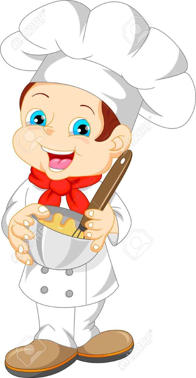 Child chef clipart clipart transparent download Stock Vector | Crochet | Cartoon, Cute boys, Little chef clipart transparent download