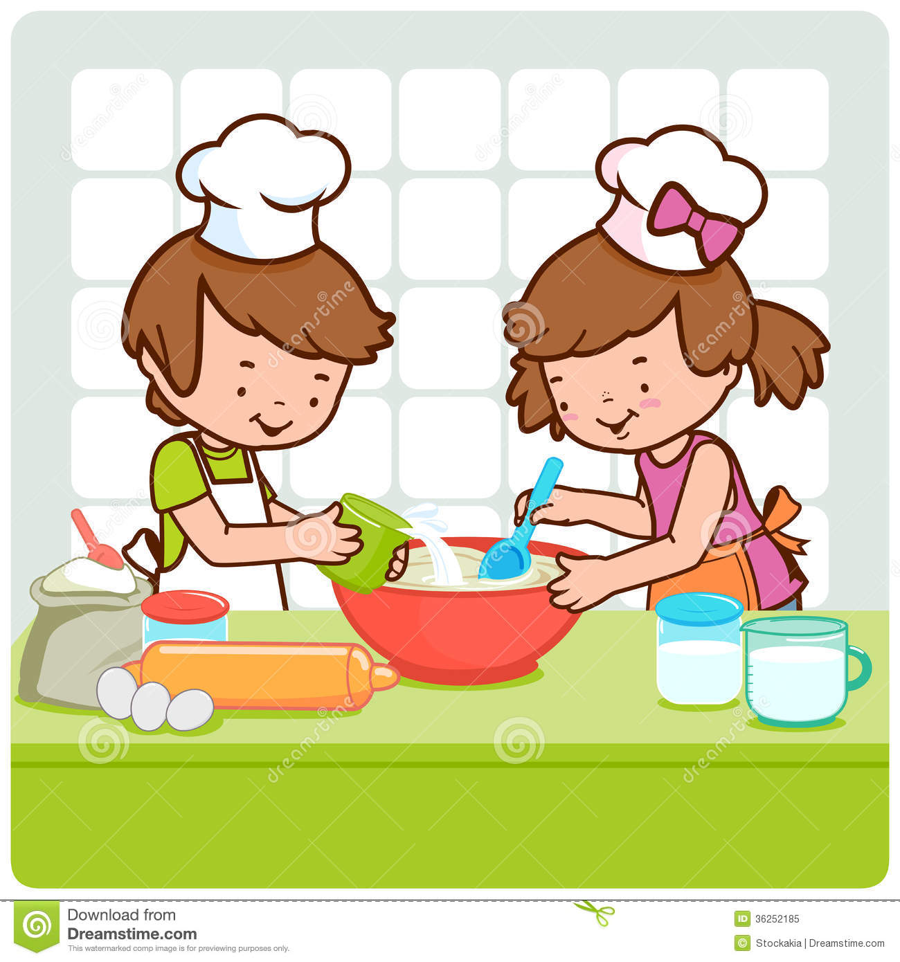 Child chef clipart clip library stock Children Cooking Clipart | Free download best Children Cooking ... clip library stock