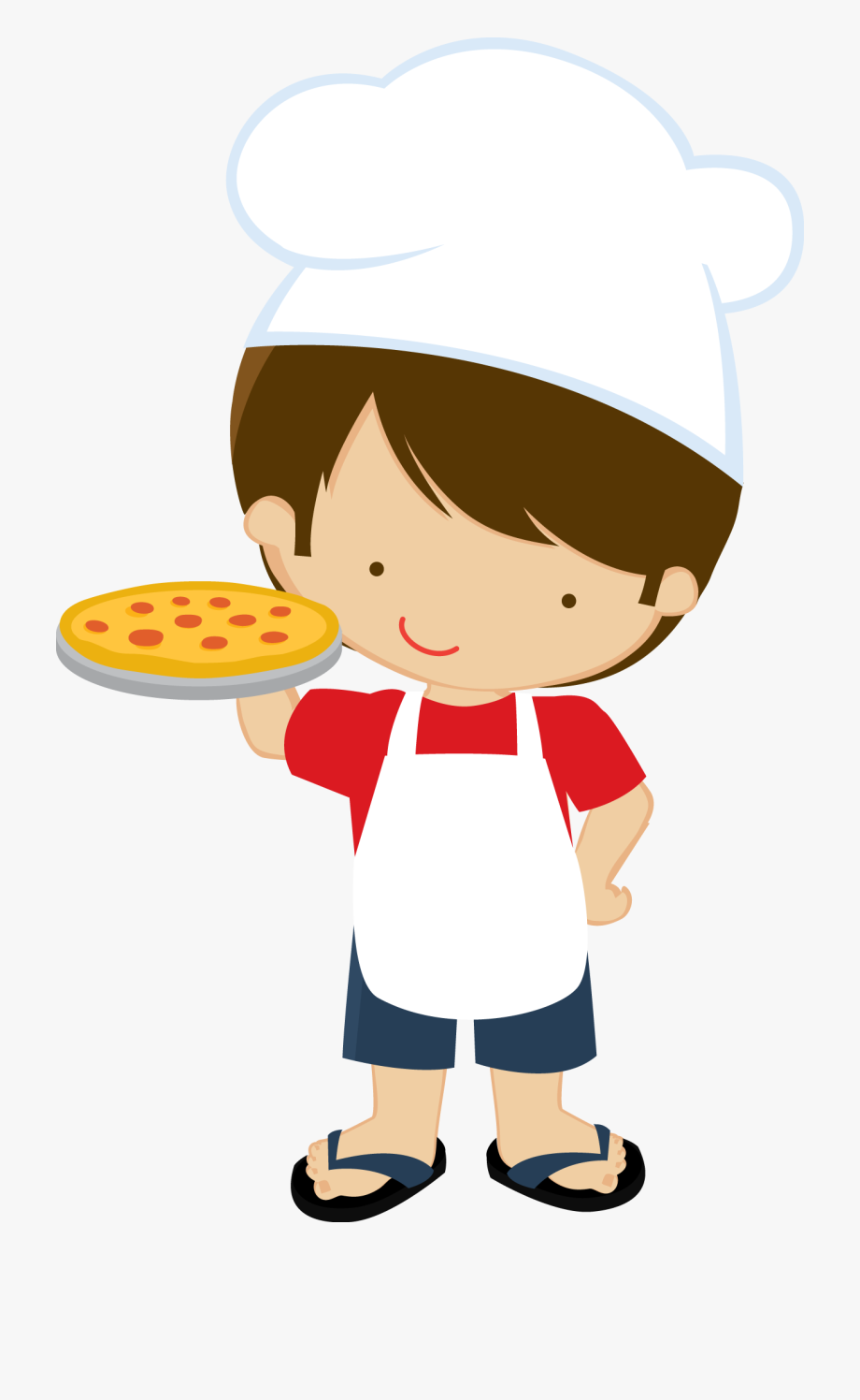 Kid making pizza clipart svg stock Pizza Maker Clipart 4 By Sean - Chef Kids Cartoon Png #282424 - Free ... svg stock