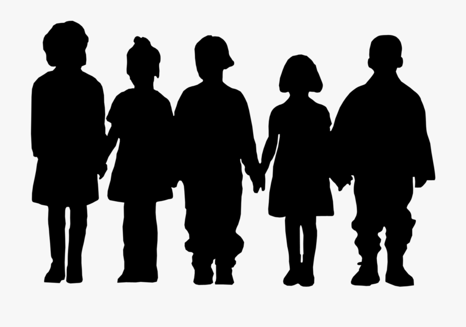 Child clipart silhouette clip art freeuse Silhouette Of A Child - Children Silhouette Png #77535 - Free ... clip art freeuse