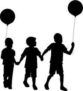 Child clipart silhouette jpg black and white library 1000+ images about Silhouettes on Pinterest | Silhouette, Stock ... jpg black and white library