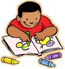 Child coloring clipart free stock Kid Coloring | Imagenes animadas educación | Comprehension ... free stock
