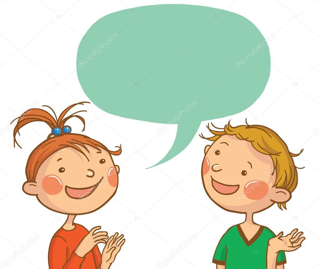 Child conversation clipart freeuse stock Kids Talking Clipart | Free download best Kids Talking Clipart on ... freeuse stock