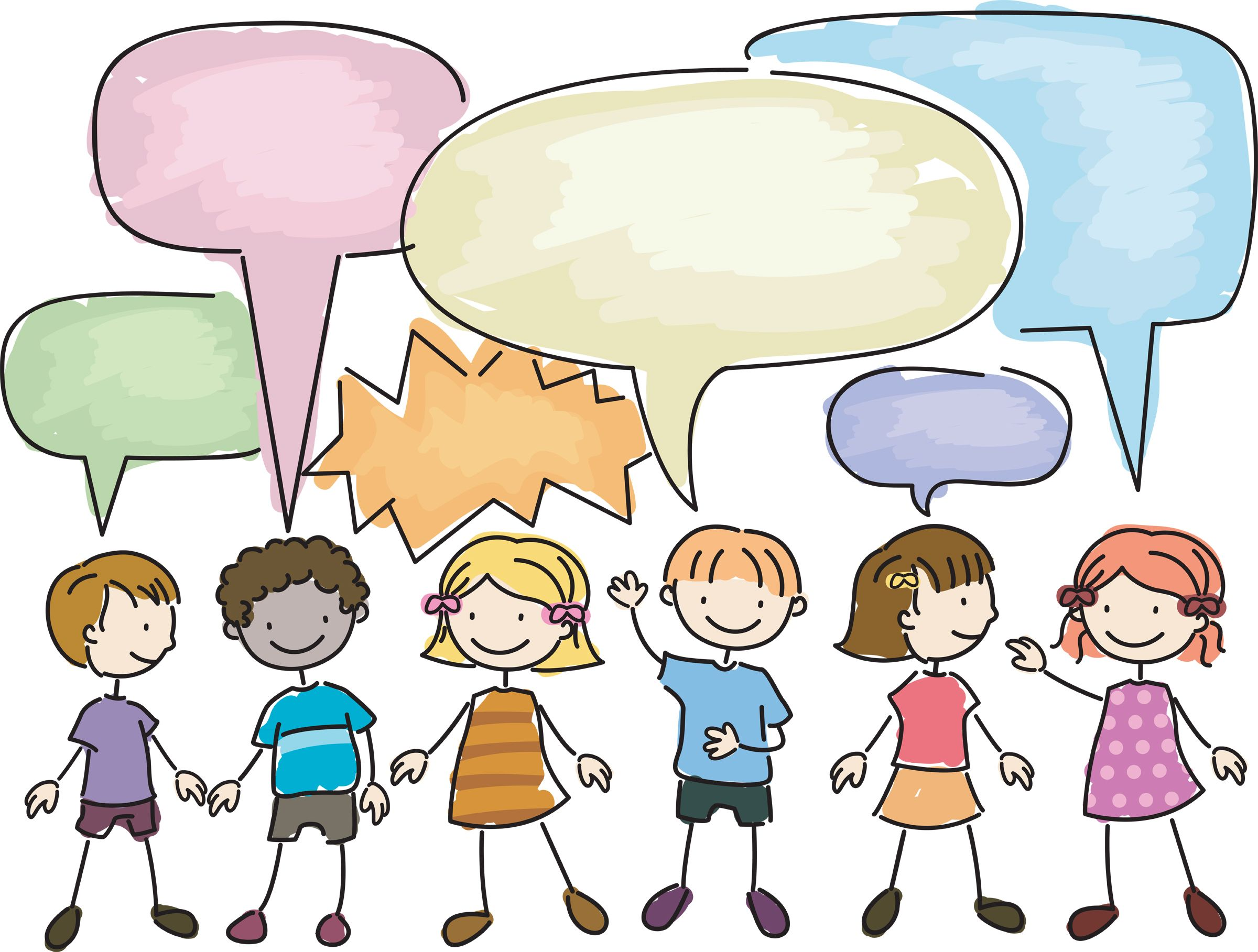 Child conversation clipart svg library download Grand Conversations in the Junior Classroom - Supporting the ... svg library download