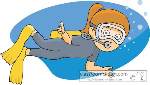 Scuba diver cartoon clipart clipart free Girls Scuba Diving Cartoon Clipart - Free Clip Art Images | Dive ... clipart free