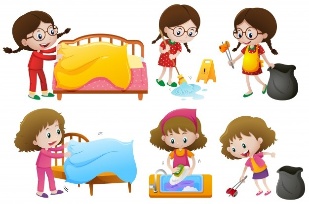 Clipart someone doing chores transparent Chores Vectors, Photos and PSD files | Free Download transparent
