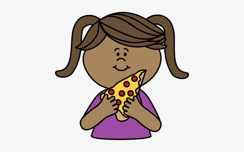 Child eating pizza black and white silhouette clipart clipart library library Girl Eating Pizza - Clipart Black And White Girl - Free Transparent ... clipart library library