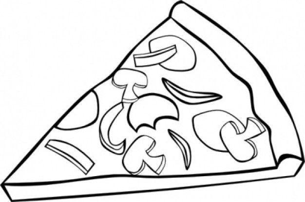 Child eating pizza black and white silhouette clipart png black and white Best Pizza Clipart Black And White #6386 - Clipartion.com | clipart ... png black and white