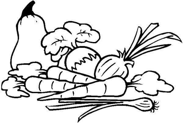 Vegetable clip art yahoo. Free clipart veggies black and white