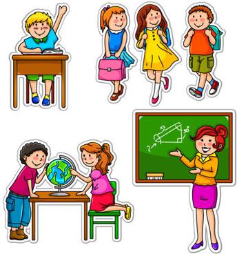 School clipart pictures free vector transparent Children school clipart free vector download (5,251 Free vector) for ... vector transparent