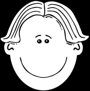 Child face clipart black and white clip stock Boy Face Black & White Clip Art at Clker.com - vector clip art ... clip stock