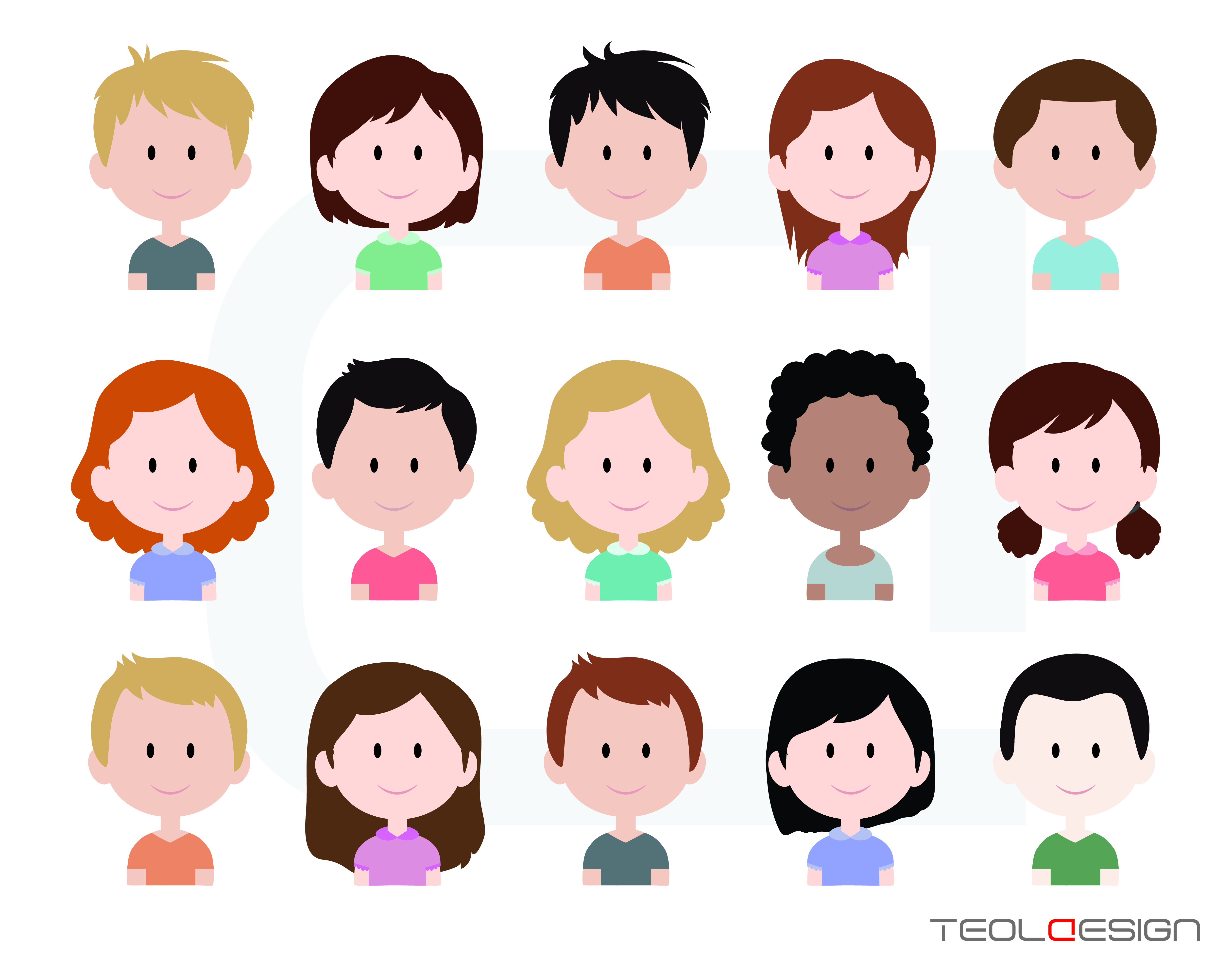 Child faces clipart clipart freeuse library Child Face Clipart | Free download best Child Face Clipart on ... clipart freeuse library