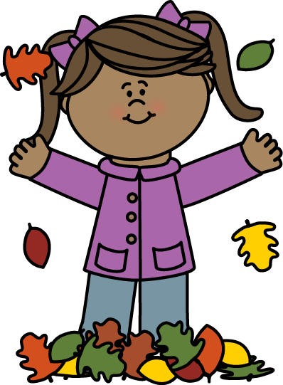 Autumn leaves kid clipart picture free download Fall Clip Art - Fall Images picture free download