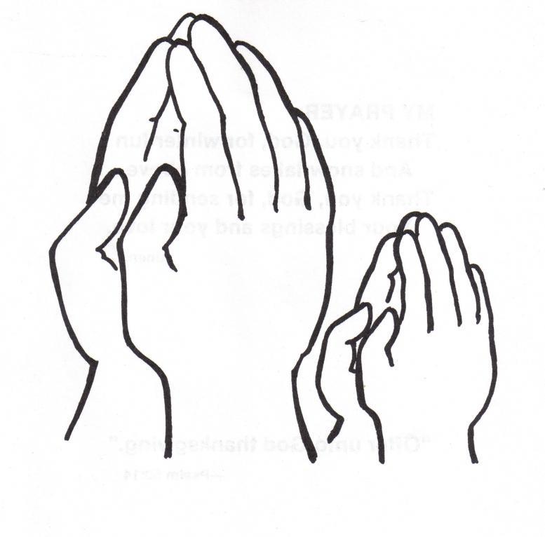Praying hands clipart kids clip freeuse download Children praying hands danasrhk top clipart - Clipartix clip freeuse download