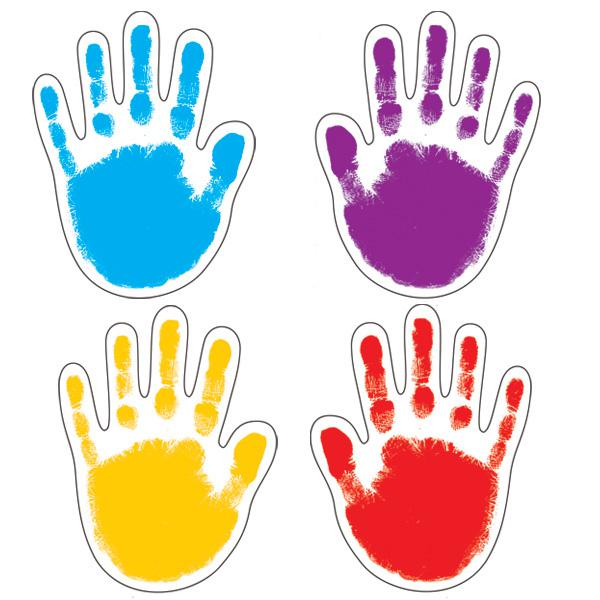 Child hand in adult hand print clipart png vector stock Free Handprint Border, Download Free Clip Art, Free Clip Art on ... vector stock