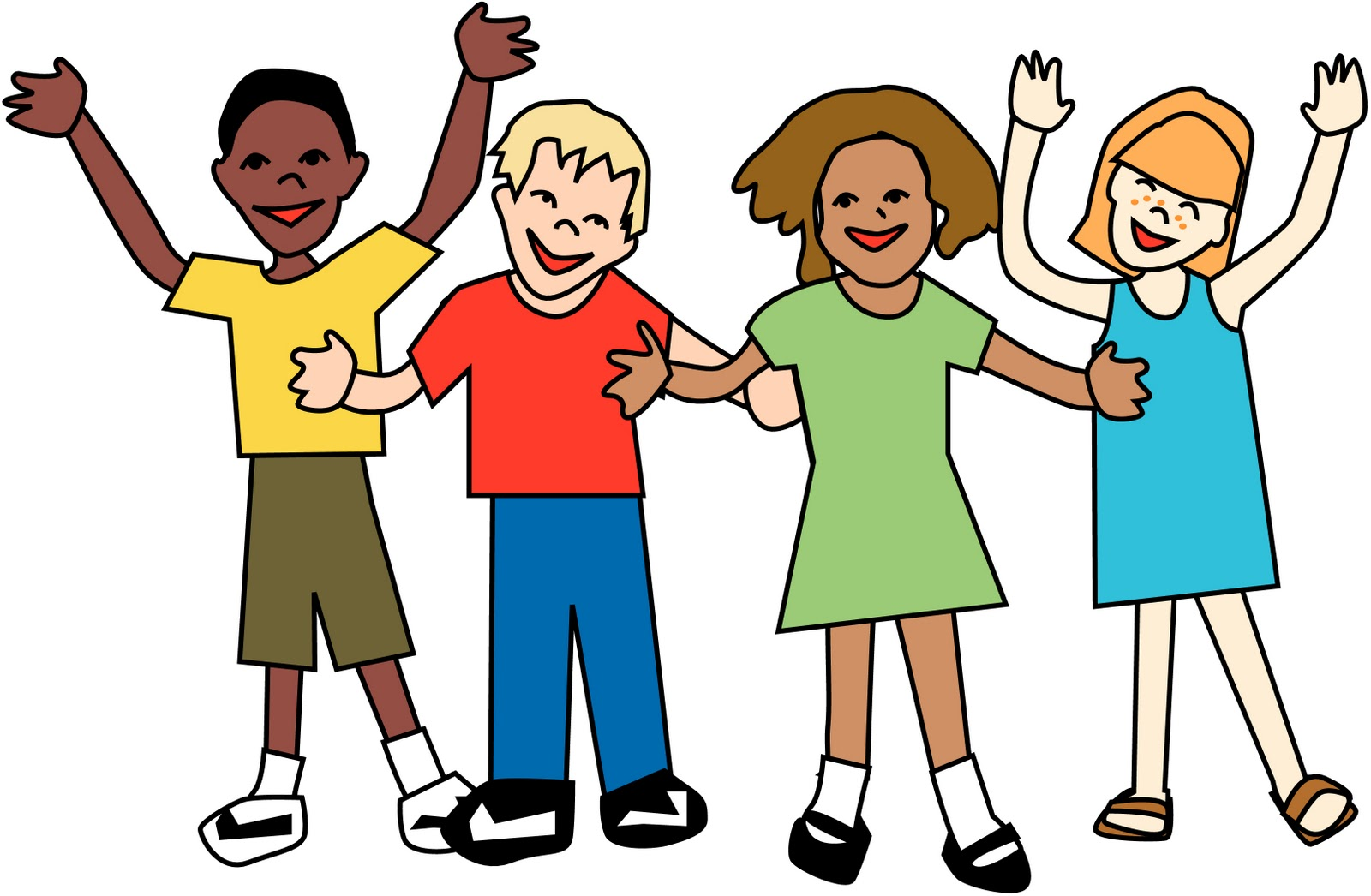 Group of kids clipart picture library library KIDS\' TEAM | New Hope Community Church - Clip Art Library picture library library