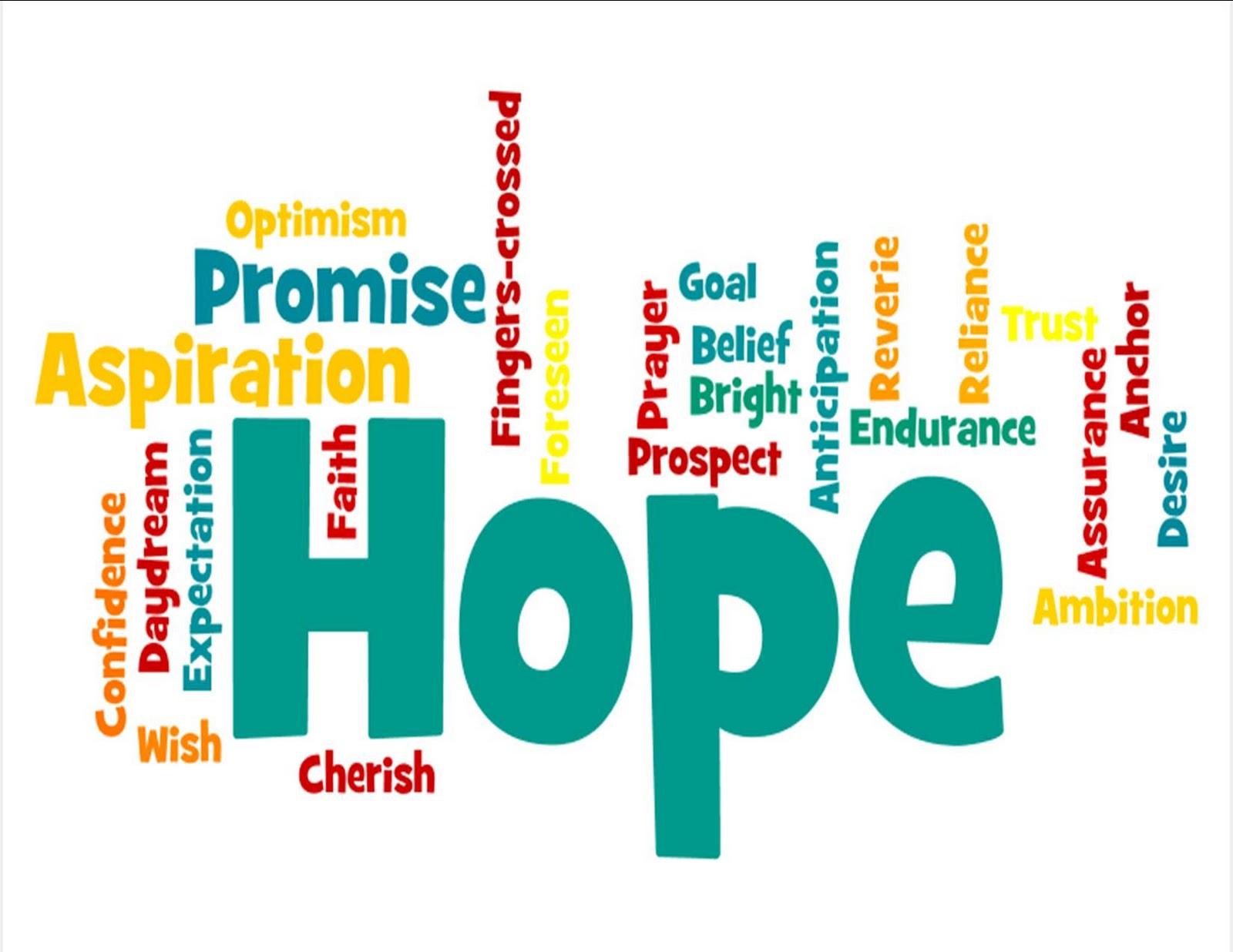 Child having hope clipart
