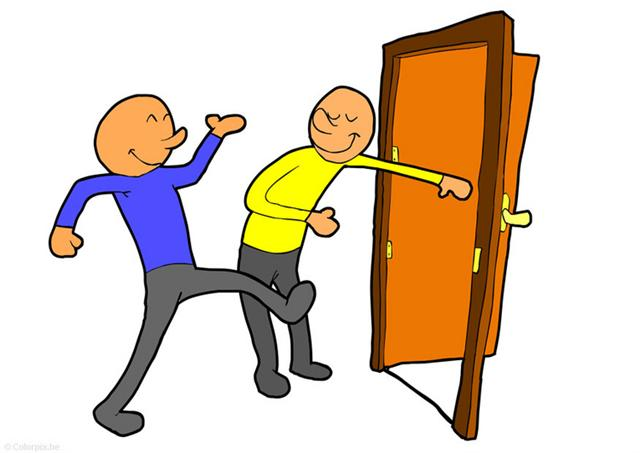 Clipart of someone standing in a doorway png library library Free Door Open Cliparts, Download Free Clip Art, Free Clip Art on ... png library library