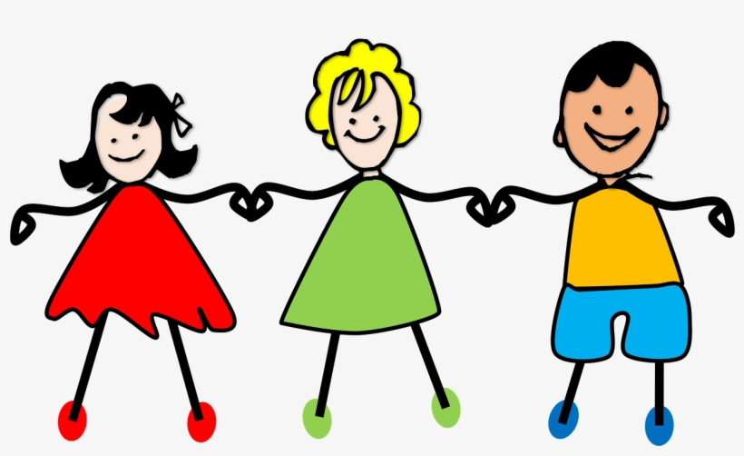 Child holding hands clipart black and white Kids Holding Hands Png Clipart Royalty Free Stock - Children Holding ... black and white