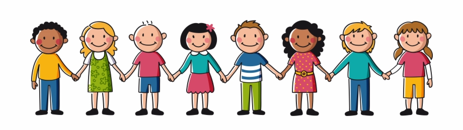 Child holding hands clipart png black and white stock Banner Freeuse Friends Holding Hands Clipart - Kids Holding Hands ... png black and white stock