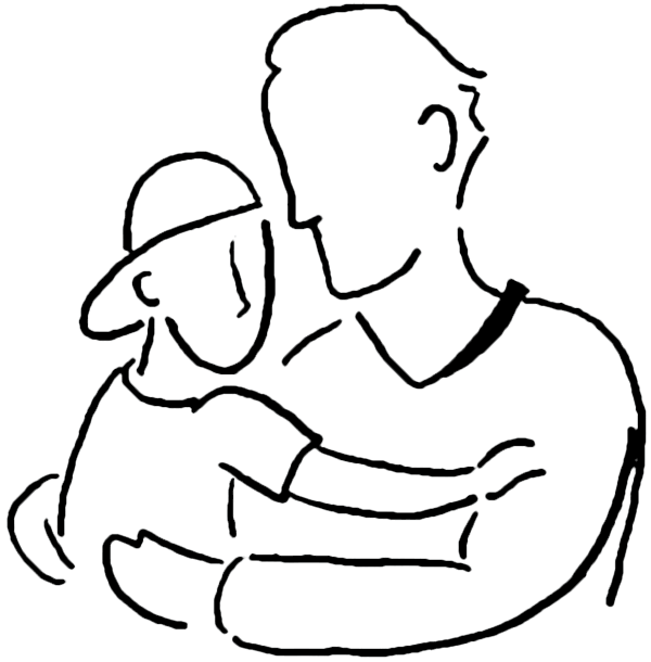 Father and son drawing clipart jpg freeuse Free Father Son Clipart, Download Free Clip Art, Free Clip Art on ... jpg freeuse
