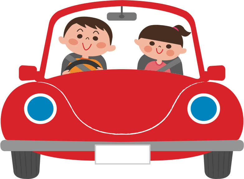 Clipart - Car Ride (#1) png free stock