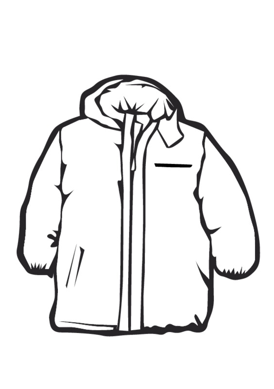Child in jacket clipart black and white graphic black and white stock Free Winter Coat Cliparts, Download Free Clip Art, Free Clip Art on ... graphic black and white stock