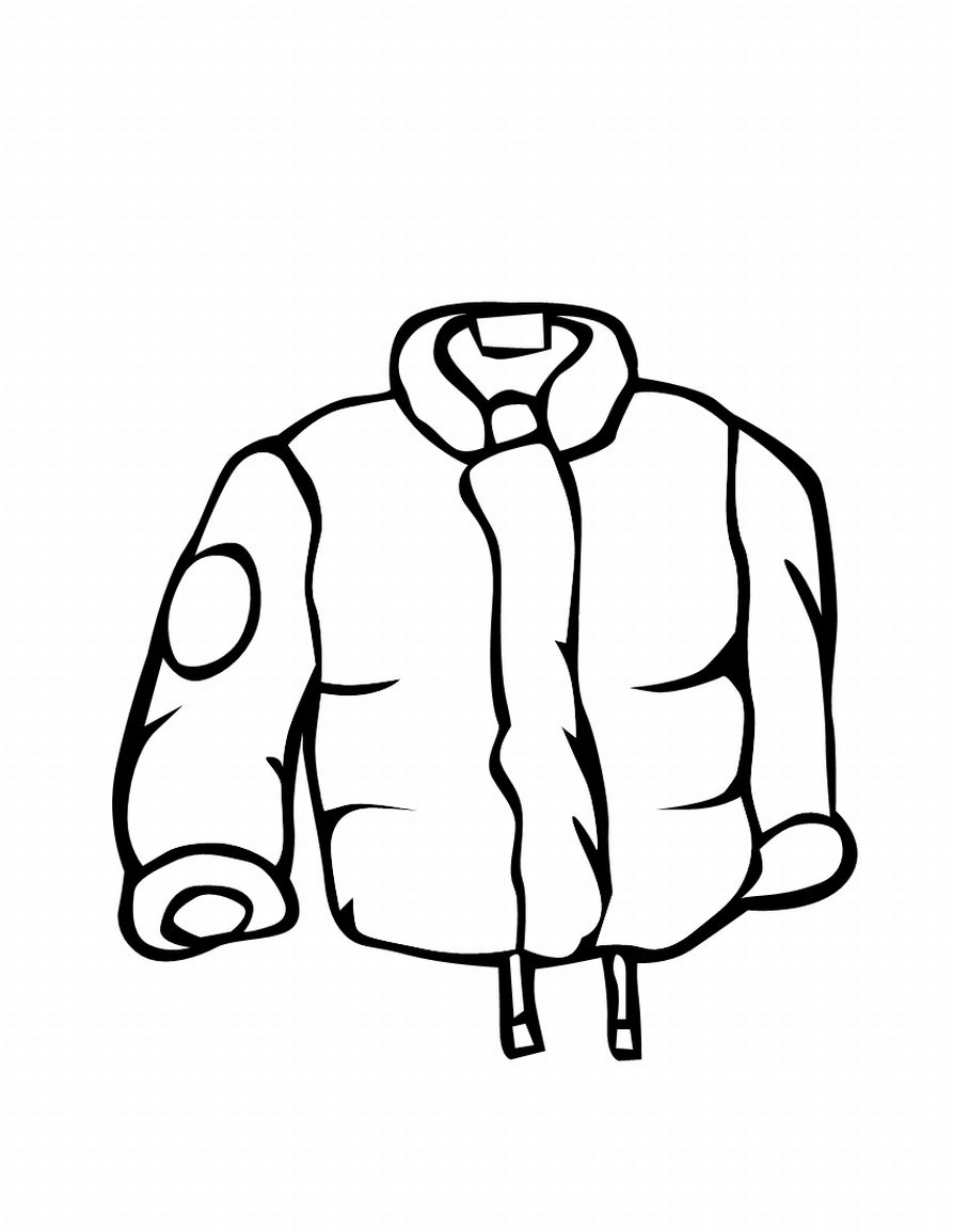 Child in jacket clipart black and white free Free Winter Clothes Pictures For Kids, Download Free Clip Art, Free ... free