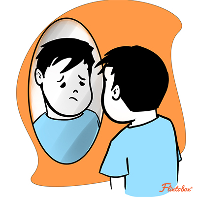Child looking in mirror clipart clip free The Secret To Building Your Child\'s Confidence [Must-Read] clip free